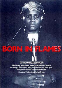 """Poster for Lizzie Borden's """"Born in Flames"""""""