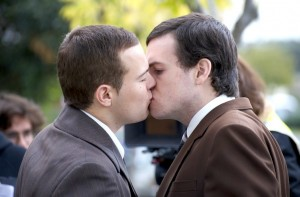 Stephen (Zac Gower) and Elliott (Kevin Newman)