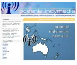 Still from the Oceania Indymedia Newsreal 3